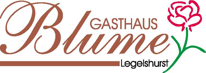 Logo Gasthaus Blume Legelshurst